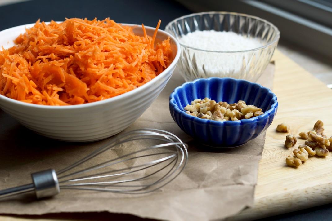 Carrot Cake Ingredients 2