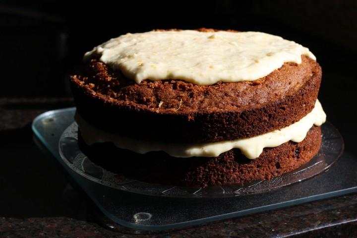 Carrot Cake Step 2