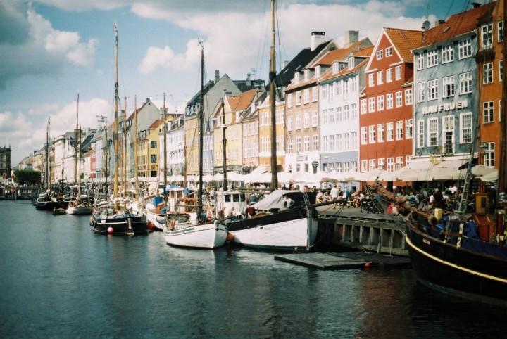 Denmark-+Copenhagen-+canal