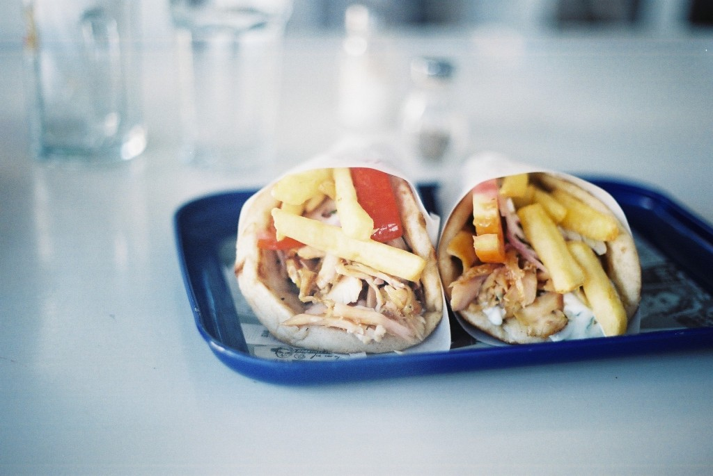 'The gyros in Mykonos were also a huge standout for me...'